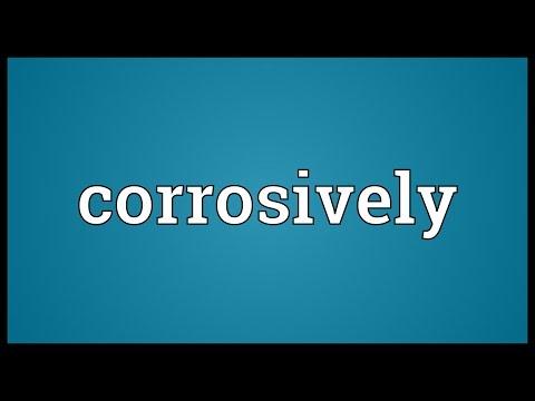 Header of corrosively
