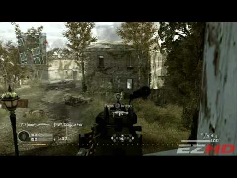 Call of Duty 4 PS3 Online Mix V2 - Deathmatch Digitally Remastered in 720p (HD)