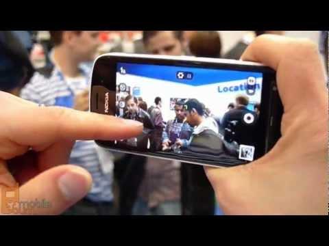 Nokia 808 PureView 41 megapixel cameraphone demo