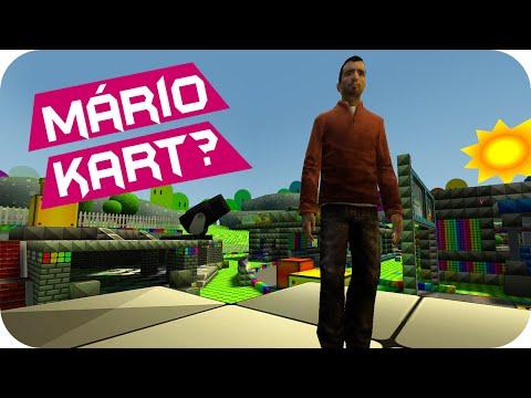 Garry's Mod: Hide And Seek - Mário Kart ?