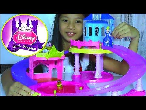 Disney Princess Little Kingdom Glitter Glider Castle Playset with Cinderella - Kids' Toys