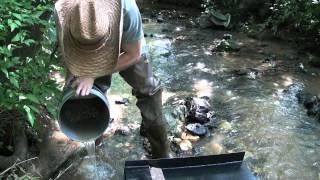 Weekend Prospectors: Creek 5 Gold Panning and Sluicing