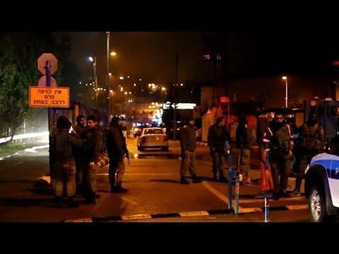 Two Palestinians stab 2 women in West Bank settlement, shot dead
