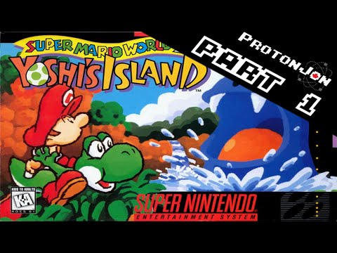 Yoshi's Island Part 1 - Adventures In Egg Throwing