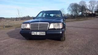 1995 Mercedes S124 E 250 TD Automatic short walkaround
