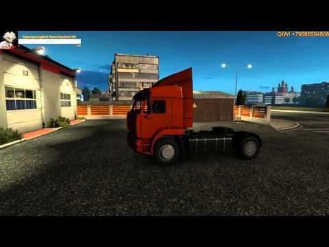 Euro Truck Simulator 2(Обзор Kamaz 6460 (4×4 6×4 6×6)