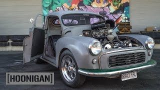 [HOONIGAN] DT 197: 500HP 1956 Morris Minor Pickup Truck