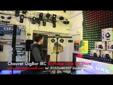 chauvet gigbar IRC @ Phase One Dj store
