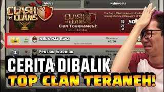 CLAN ANEH Ini Bikin SEMUA TOP CLAN se-Indonesia TURUN TAHTA!! - Coc Indonesia