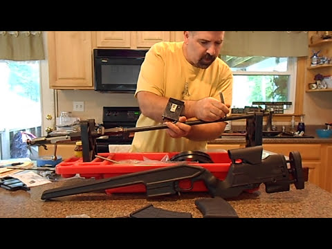 mosin nagant project part 1 (shortening the barrel and facing the muzzle)