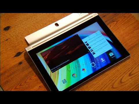 Lenovo Yoga Tablet 2: Solid tablet design hindered by so-so performance