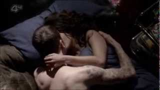 Misfits 5x05 - Rudy and Jess FIRST KISS and make out
