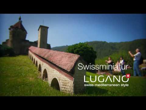 Lugano Ticino - Swissminiatur