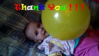 [LITTLE  BABY GIRL FIGHT AIR BALLS  ! ! !] Video
