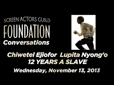Conversations with Chiwetel Ejiofor and Lupita Nyong'o of 12 YEARS A SLAVE