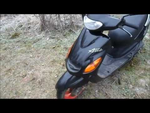 Na_Moto Обзор №6 Yamaha Grand Axis 100