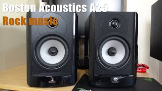 Boston Acoustics A25, CA Topaz am10 - Rock