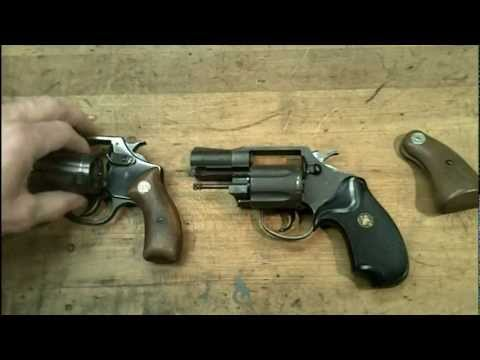 Snubnose revolvers. Colt Agent and Charter Arms Undercover