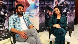 #Saaho Exclusive Interview ft. #Prabhas & #ShradhaKapoor  Must Watch