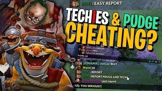 Techies & Pudge Are CHEATING! - DotA 2