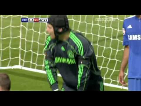 Petr Cech Saves @ Chelsea vs. Manchester / Community Shield Video