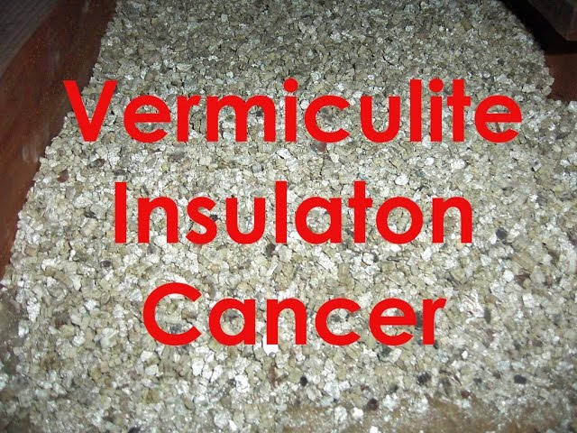 Vermiculite Insulation Tremolite Asbestos Zonolight  WC GRACE for Libby Montana and  911 WTC DUST