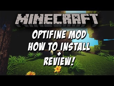 Minecraft 1.8.1 OptiFine Mod Review + How To Install w/ Download!