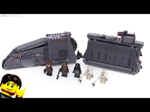 LEGO Star Wars Imperial Conveyex Transport review! 75217