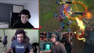 Shiphtur VS LL Stylish INSANE | Summit1G Outplay | FORG1VEN 8.000£ IN HOURS | LoL Stream Moments