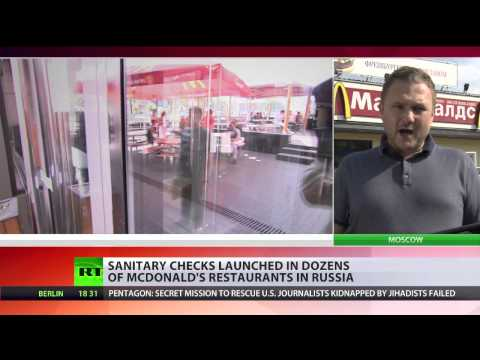 Unhappy meal: McDonald's under fire across Russia