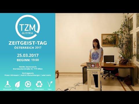 Astrid Meischberger  Die Vorteile einer pflanzlichen Ernährung - Z-Day Zeitgeist Bewegung Österreich