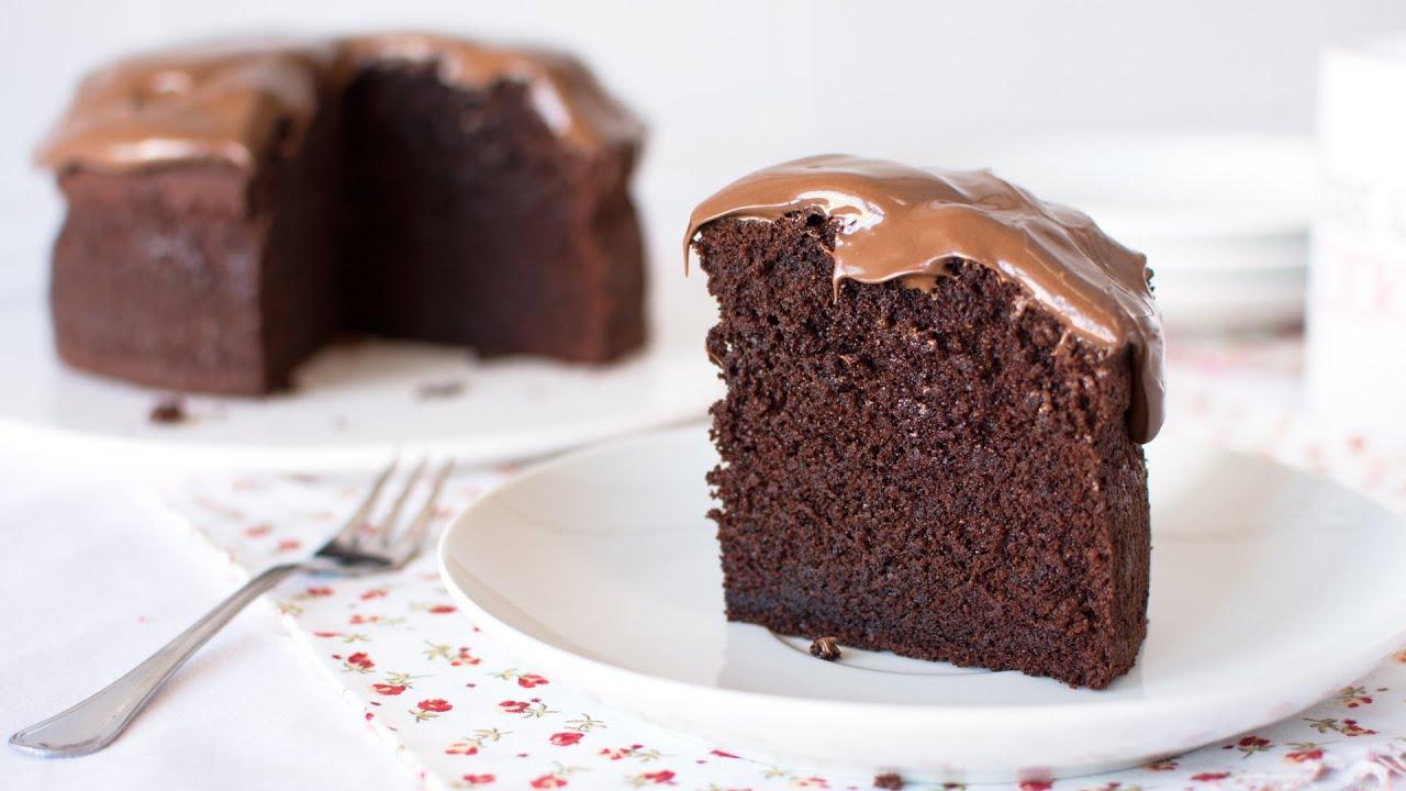 Bizcocho De Chocolate Facilisimo Delicioso Y Esponjoso