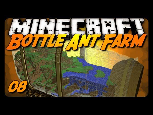 Minecraft   Bottle Ant Farm Survival - 08 - THE GOLDEN APPLE!?