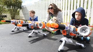 Nerf War:  Mail Time Mayhem 51