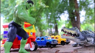 Biggest Crocodiles Vs The Hulk | Mutant Animal | Video For Kids