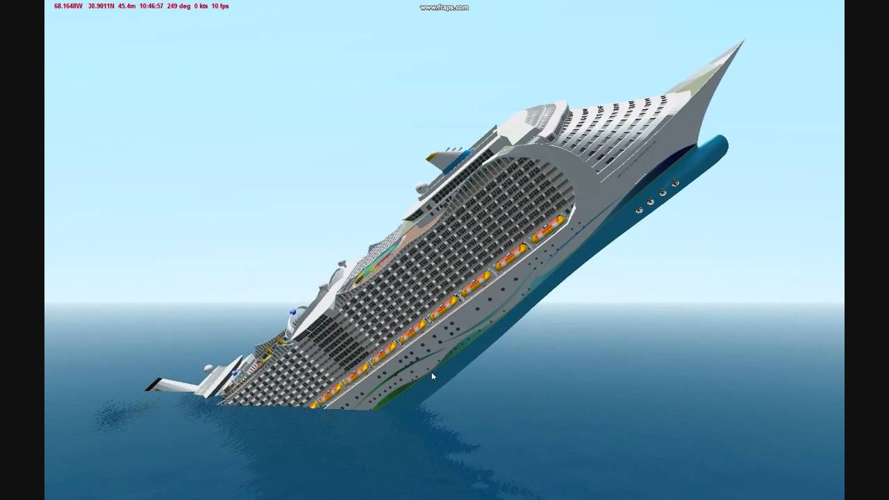 How To Sink A Ship With The Bow Or Stern In Virtual Sailor