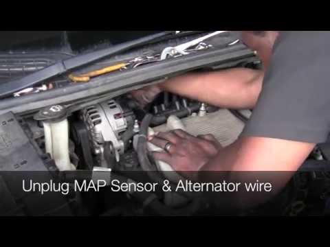 How To Change Spark Plugs on Buick Terraza Chevy Uplander