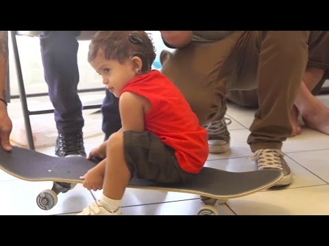 Skateboarders Help 2 Kids Hear for the First Time - Bring the Noise - Part 2