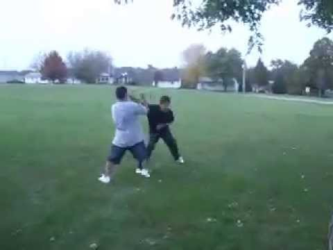 Christian Perez Fighting Alan .M Video