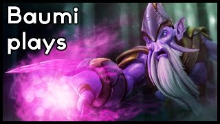 Dota 2 | +120 DAMAGE RIGHT CLICK TALENT DESTRUCTION!! | Baumi plays Dark Seer