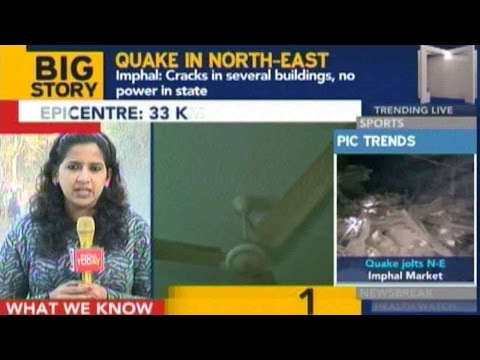 Earthquake Rocks Northeast India