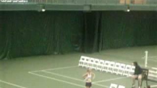 Drama Queen Svetlana Krivencheva complaining to the chair umpire
