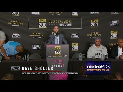 UFC 200: Post-Fight Press Conference Highlights