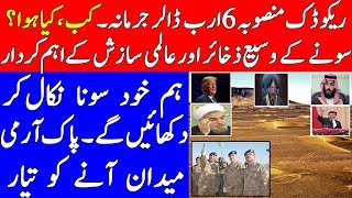 Reko Diq | Pakistan's Gold Reserves | Pak Army Intentions & World's Preferences| Iftikhar Chaudry