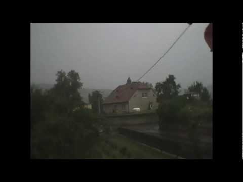 03.08.2012 Siedlęcin Burza Time-Lapse