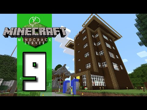 Beef Plays Minecraft Mindcrack Server S5 EP09 Strange Layout