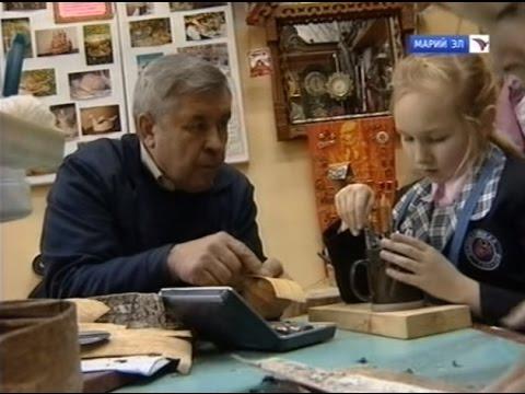 Мелодия судьбы - Мастер по бересте Владимир Желудкин