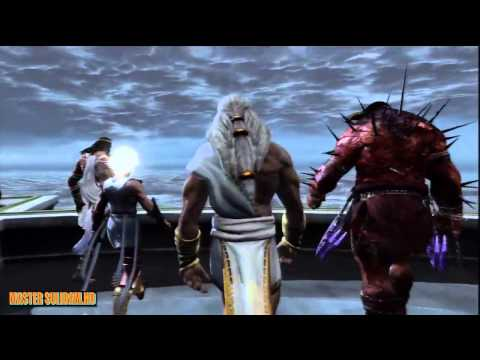 Dios de la guerra - God of war 3 Movie HD (Sub español) Part 1