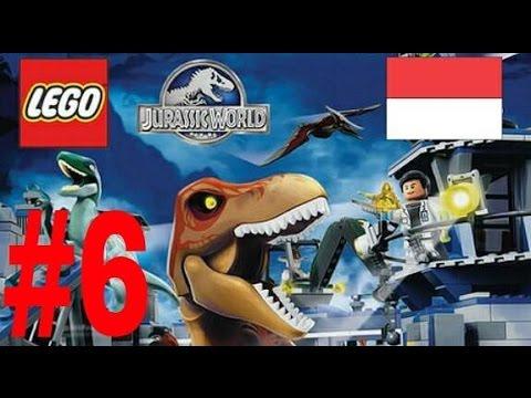 LEGO Jurassic World PS4. #6. Kocak Abis. Dino VS Babi nyolot. haha
