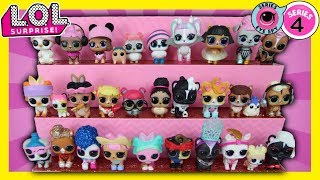 LOL Surprise Eye Spy Series 4 Pets 2 FULL CASES Unboxed Wave 1 + Wave 2 ALL LOL Pets LOL Doll Videos